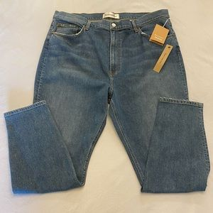 NWT REFORMATION Jeans, High Rise Skinny, Size 18